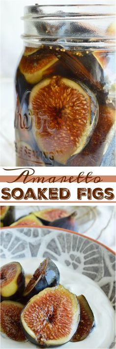 is my favorite time of year, Fig Season! If you have an abundance of fresh figs or just like boozy fruit try this Vanilla Amaretto Soaked Figs Recipe. Serve over ice cream or yogurt for a unique and flavorful dessert! Fig Recipes, Canning Recipes, Fig Season, Fresh Figs, Tasty, Yummy Food, Abundance, Food And Drink, Yogurt