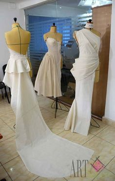 //Mr-Hesham Helal #fashiondesign #sewingfashion #iconic Clothing Patterns, Dress Patterns, Draping Techniques, Pattern Draping, Dress Form Mannequin, Solange, Diy Kleidung, Diy Fashion, Fashion Design
