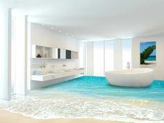 Fußboden Tattoo 3d ~ Charming badezimmer 3d boden #5: 3d bodenbelag 3 badezimmer etage