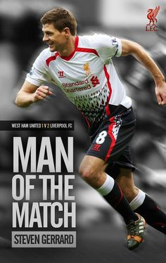 Steven Gerrard MOTM