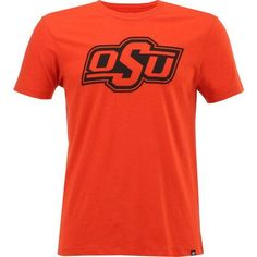 '47 Oklahoma State University Primary Logo Club T-shirt (Orange, Size X Large) - NCAA Licensed Product, NCAA Men's Tops at Academy Sports