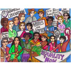 Fighting for Women's Rights - Yesterday & Still Today - ©2014 Tammy Ortegon - https://squareup.com/store/colorwheel-gallery