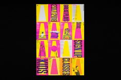 A campaign for the influential performing arts group recasts its brand identity with a blast of bright color.