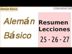 Alemán Básico. Resumen Lecciones 25 a 27
