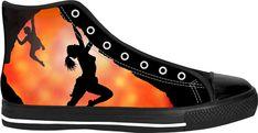 Bouldering flare sneakers
