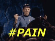 The perfect Startrek Spock Pain Animated GIF for your conversation. Discover and Share the best GIFs on Tenor. Watch Star Trek, Star Trek Tos, Star Wars, You Funny, Hilarious, Princess And The Pea, Leonard Nimoy, Thing 1, Losing Friends