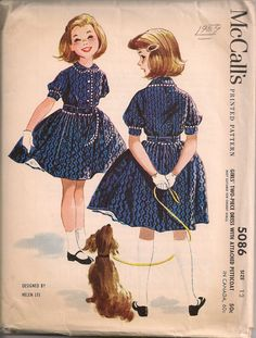 School dresses with petticoats