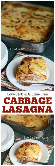 A crowd pleasing low carb cabbage lasagna recipe that can be made ahead. They'll never miss the pasta noodles in this healthier version.
