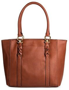 Merona® Women s Faux Leather Tote Handbag - MeronaTM d6a8c6768f585
