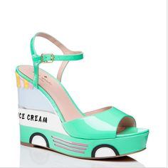 ISO Kate Spade Dotty Wedges Looking for these amazing heels! Size 7.5 or 8 depending on how true to size they are. I'm aware that they are not out yet. I'm looking to buy them for less than $200, slightly pre-loved but in good condition. kate spade Shoes Wedges