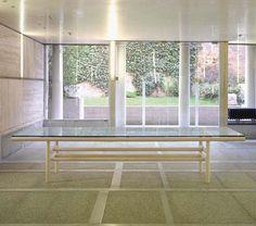 Gritti table produced by Simon - Carlo Scarpa -1973/74