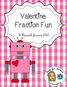 This FREE download contains two fractions activities centered around a Valentine's Day theme. Students will match equivalent fractions to mend broken hearts, and will practice creating fractions based on Valentine-themed word problems.A great way to incorporate Valentine's Day fun into your classroom while still practicing essential skills!