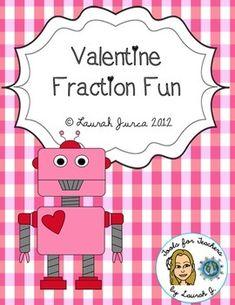 Free Valentine Fraction Fun!