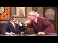 """Foster Brooks as the drunken airline pilot slays Dean Martin in this classic '70s sketch. Ignore the dumb promo tacked on the end by the poster. (BTW, The video DOES exist, click on the3 """"Found on Youtube"""" link, not the other links.) (KevinR@Ky)"""