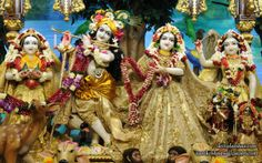 To view Radha Gopinath Wallpaper of Chowpatty in difference sizes visit - http://harekrishnawallpapers.com/sri-sri-radha-gopinath-lalita-vishakha-iskcon-chowpatty-wallpaper-070/