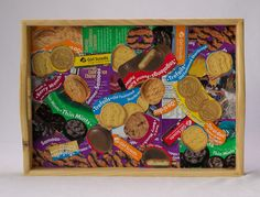 Decoupaged Girl Scout Cookie Serving Tray - Cute idea for cookie mom.  I think I am making one.