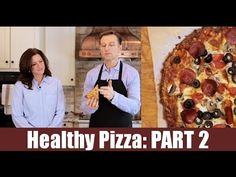 Healthy Pizza: Part 2  Full Video: https://www.drberg.com/blog/recipes/the-healthiest-pizza-in-the-world-part-two