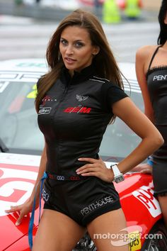 The lovely Penthouse girls at Nürburgring