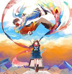 Kagerou Project:Ayano Tateyama and Shintaro Kisaragi Ayano Tateyama, Manga Anime, Anime Art, Kagerou Project, Anime Characters, Fictional Characters, Pokemon, Actors, City