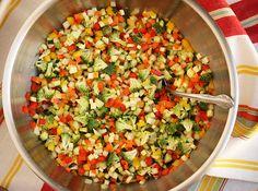 Confetti Salad with Carrot Juice Vinaigrette 2
