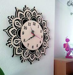 Clock, Wall, Design, Home Decor, Large Clocks For Walls, Wall Clock Wood, Pointers, Dekoration, Watch