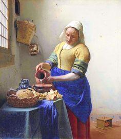 De melkmeid, Johannes Vermeer