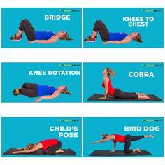 Exercises for stronger back. #SIJoint