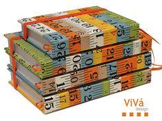 ViVá design -- notebooks for the crafty set