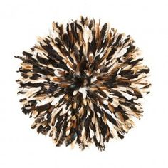 Snob juju feather headdress in light natural tones of tan beige and brown