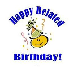 Belated Birthday Birthday Wall, Birthday Quotes, Birthday Cards, Belated Happy Birthday Wishes, Wish Quotes, Happy B Day, E Cards, Greeting Cards, For Facebook