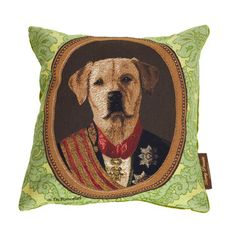 Thierry Poncelet Dog Pillow I, $95, now featured on Fab.