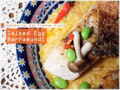 Salted Egg Barramundi – Kühlbarra: Eat Fresher Fish http://budgetpantry.com/salted-egg-barramundi-kuhlbarra/