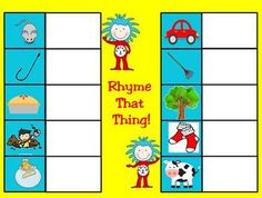 This March themed set of 14 printable learning centers are perfect for a quick review of basic kindergarten skills. Includes Rhyming Words, beginnn...