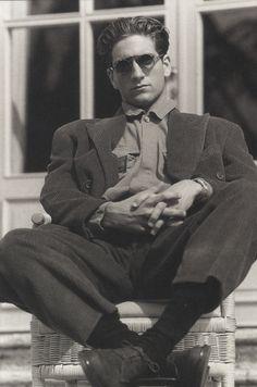 Armani - photo by Aldo Fallai (1988)