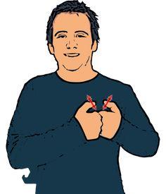 Valentine - British Sign Language (BSL) British Sign Language Dictionary, Sign Language Phrases, Sign Language Alphabet, Learn Sign Language, American Sign Language, Learn Bsl, Learn To Sign, Makaton Signs, Secret Handshake