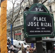 Plastic-wrapped trees - a more weatherproof solution? Monuments, Jose Rizal, Street Names, Paris Street, Philippines, The Neighbourhood, Rues, Outdoor Decor, Plastic