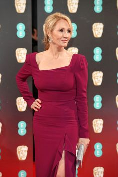 J.K. Rowling attends the 70th EE British Academy Film Awards (BAFTA) at Royal Albert Hall on February 12, 2017 in London, England. Pinned by @lilyriverside