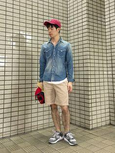 Y's Wardrobe: 【kolor avontade uniqlo and more...】ショートパンツ、今年初解禁!2...