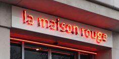 la façade de la Maison rouge à Paris