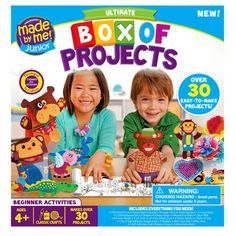 <div><div>This is the ultimate craft project box for beginners. It includes everything you need ...