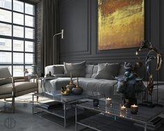 Interior Design on Behance