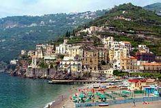 Minori, Italy Amalfi Coast - a nice little town at the Amalfi Coast, Mediterranean Sea