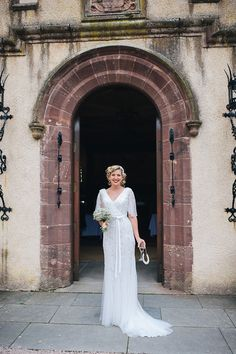 Anoushka G For A 1920's Elegance Inspired Scottish Castle Wedding