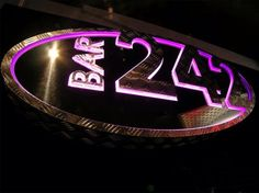 Bar 242 chequer plate, mirror stainless steel and Perspex Stainless Steel, Neon Signs, Plates, Models, Bar, Mirror, Licence Plates, Plate, Mirrors