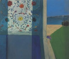 Recollections of a Visit to Leningrad, 1965, oil on canvas. Marie Dauenheimer's Art and Anatomy Blog: Richard Diebenkorn, the Berkeley Years 1953-1966