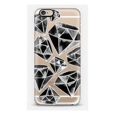 iPhone 6 Plus/6/5/5s/5c Case - Tattoo Black Diamonds ($40) ❤ liked on Polyvore featuring accessories and tech accessories