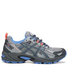 3e94fa2db68 ASICS Women s Gel-Venture 5 Trail Running Shoes (Grey Carbon Blue)
