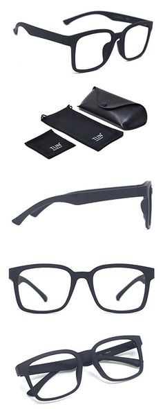 f848c2506d6 TIJN Square Light Glasses Frame Non Prescription  eyeglasses for Men Glasses  Online