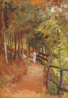Plimbare în parc - Nicolae Vermont Lumea Picturilor - Cerca con Google