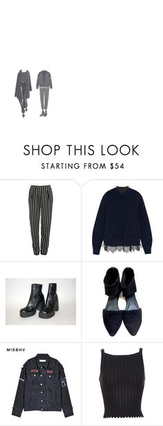 """""""after dark"""" by unconventional-outfits ❤ liked on Polyvore featuring Glamorous, Sacai, Eileen Fisher, Misbehave, Alaïa and Missoni"""